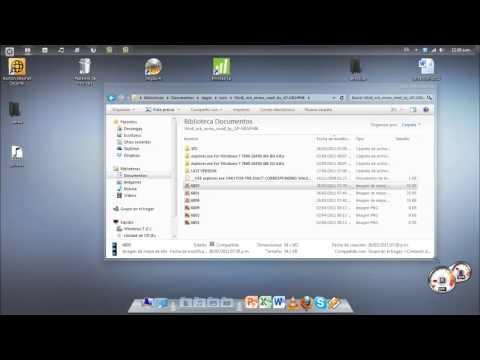 Cambiar icono de barra de tareas Orb Start de forma manual windows 7