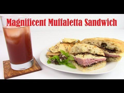 How to make Muffaletta Sandwich