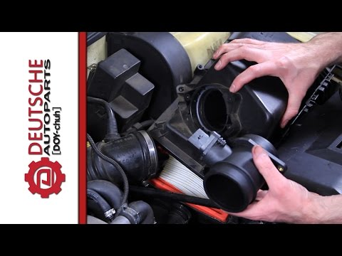 How to Replace a Mass Air Flow Sensor (MAF) on a 1.8T VW Engine (with engine codes AWP, AWW, AWD)