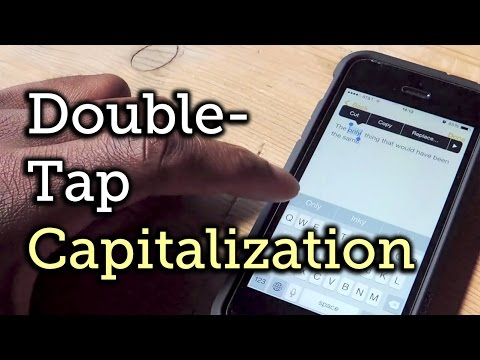 iOS 8 Quick Tip: Auto-Capitalize Words Using the Stock Predictive Text Keyboard [How-To]
