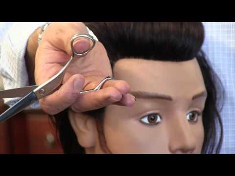Haircut Tutorial: Scissor Cutting Techniques