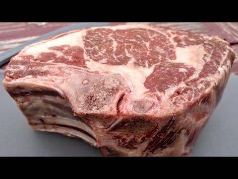 Caveman Reverse Sear Prime Rib Steak