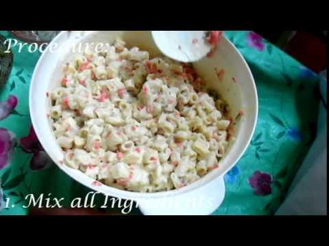 How to make Macaroni Salad (3 EASY STEPS!!!)