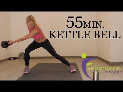 55 MIN. KETTLE BELL WORKOUT - BURN FAT/BUILD/TONE