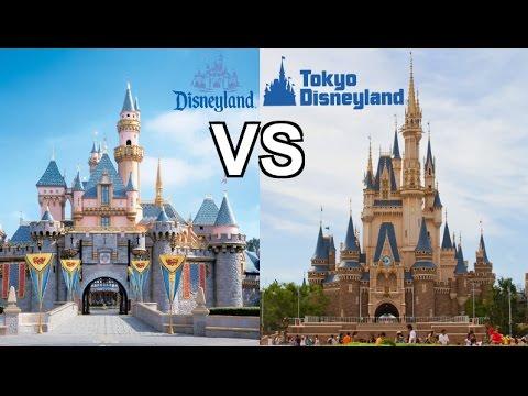DISNEYLAND VS TOKYO DISNEY!   WHICH IS BIGGER + BETTER + BADDER?!