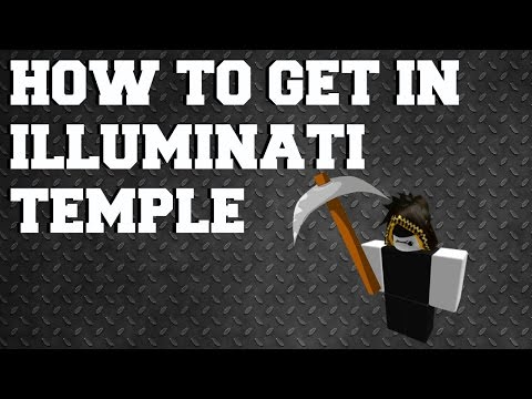 How to get into Illuminati Temple on Azure Mines | Roblox