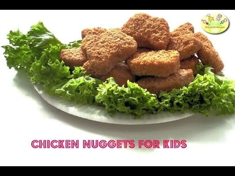 Homemade Chicken Nuggets- Lunchbox/ Snack Recipe for kids