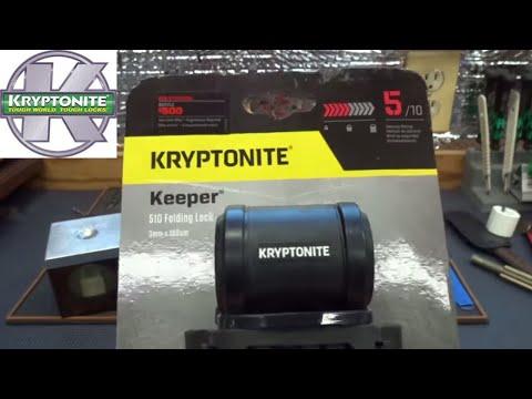 (1304) Review: Kryptonite Keeper 510 Bicycle Lock