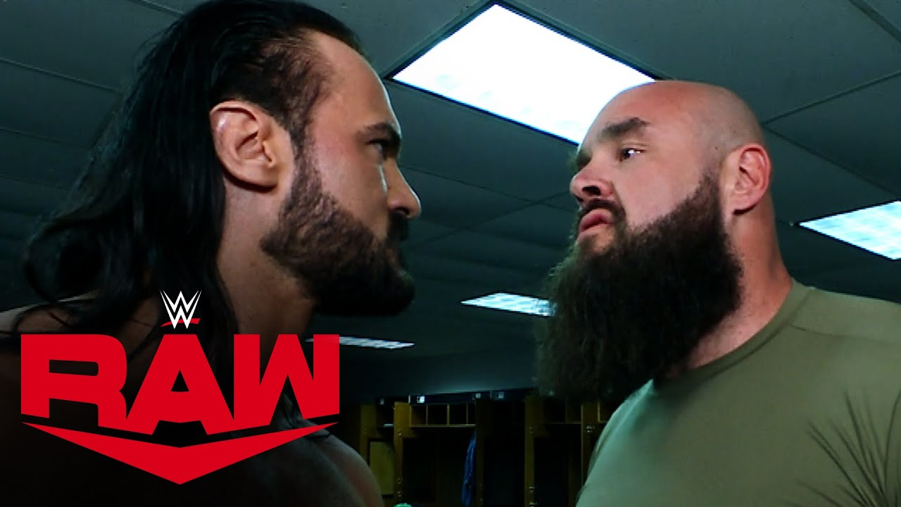 Drew McIntyre brings the fight to the Raw locker room: Raw, Mar. 29, 2021