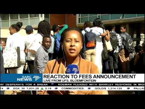 UFS students still demand a 0% increase in fees