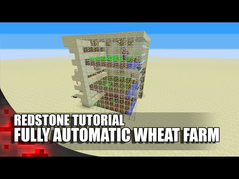 Minecraft: Fully Automatic Wheat Farm!