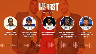First Things First audio podcast(6.13.19)Cris Carter, Nick Wright, Jenna Wolfe   FIRST THINGS FIRST