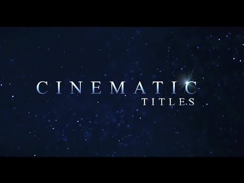 Fast Cinematic Title Trailer Animation In After Effects | After Effects Tutorial - No plugin