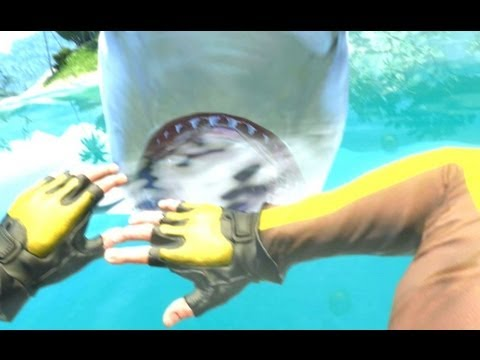 Far Cry 3 | Killing a Shark