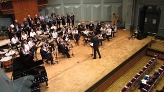 Kyrie uit Missa Brevis (Jacob de Haan), Leids Harmonie Orkest ism Lingua Musica. Opname uit het Leids Amateurkunst Festival, 30 juni 2013