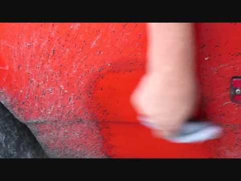 Tire Rubber and Road Tar Removal with Acrylic-Werks Polish