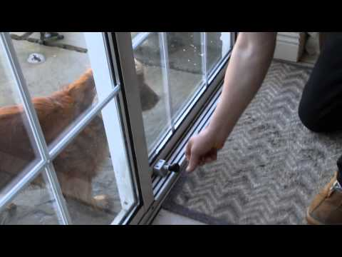 Best way to secure your Sliding Patio doors- SecureYourHome