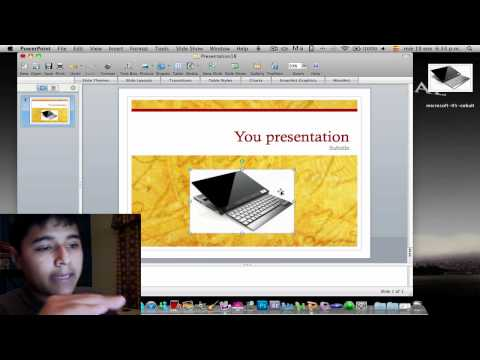 How to use Microsoft PowerPoint in Mac