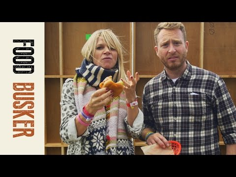 Po' Boy Prawn Sandwich feat. Zoe Ball