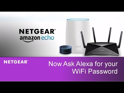 Just Ask Amazon Alexa for your WiFi Password | NETGEAR Routers and WiFi Systems