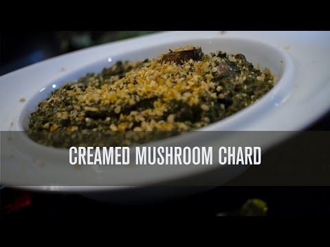 Awesome Creamed Mushrooms Chard - Dairy Free! (Updated)