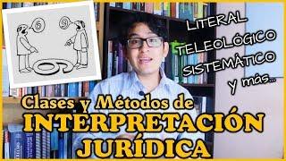 CLASES Y MÉTODOS DE INTERPRETACIÓN JURÍDICA | Introducción al Derecho (#19)