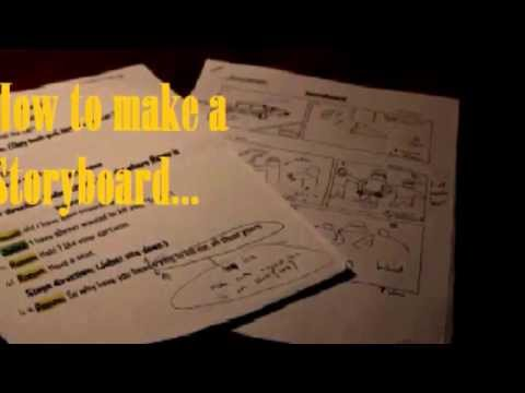 How to make a Storyboard for a Short Film