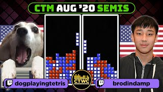 August 2020 CTM - Semifinal 1 - Classic Tetris Monthly