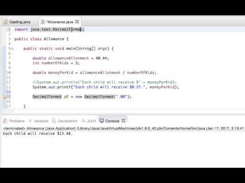 Formatting Decimals in Java