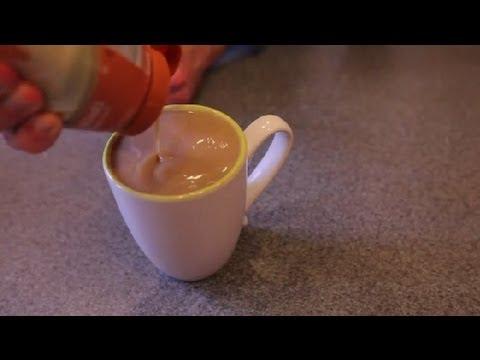 How to Make an Extra Caramel Macchiato Using Caramel Syrup : Mochas