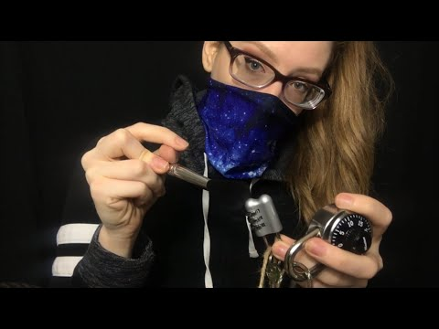 ASMR UNKidnapping You | Picking Locks, Cutting Cords, Removing Moss