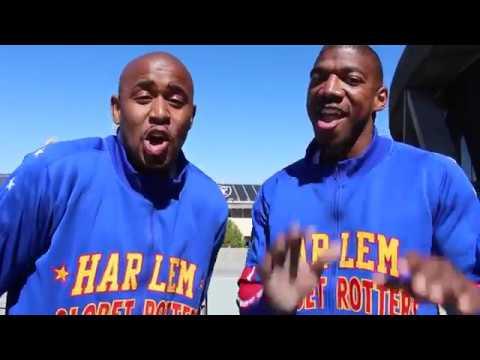 SPLASH! Oracle Arena Roof Shot   Harlem Globetrotters