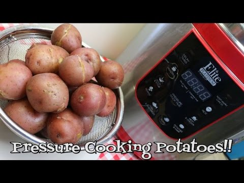 How to Cook Potatoes in a Pressure Cooker~Pressure Cooker Prep~Quick Cook Potatoes~Noreen's Kitchen