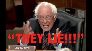 """THEY LIE!"" Bernie Sanders"