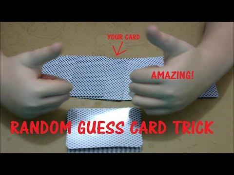 CARZY RANDOM ORDER GUESSING MAGIC TRICK!!!