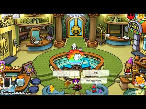 Club Penguin Hunt For Rares:EP 1 Bombies
