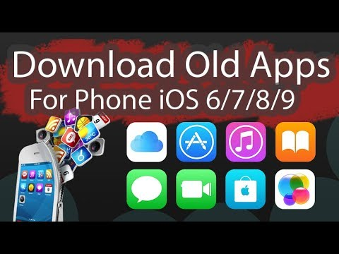 Download Old Version App for iOS 6/7/8/9 Work 100% - iNitial E Store