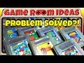 Solving Nintendo Game Boy Cartridge Storage Display Many Others Game Room Ideas