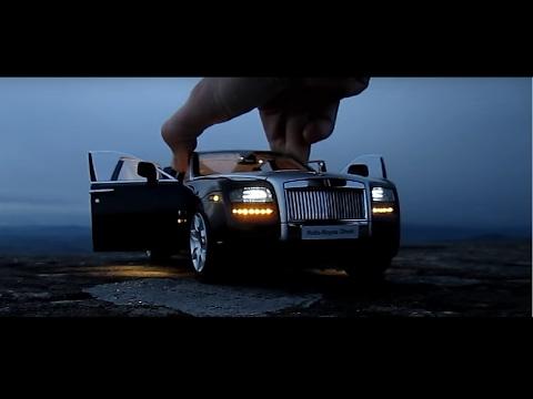 This Rolls Royce Ghost costs $1000 - Diecast Car 1/18 Car LED Lights Kyosho kereta mewah