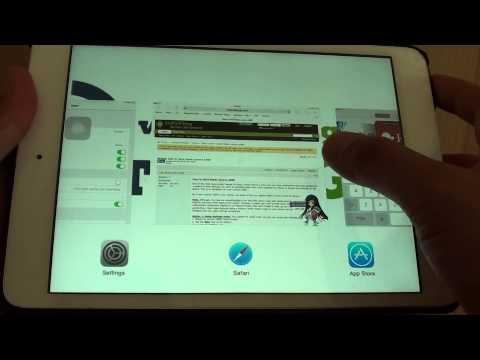 iPad Mini: How to Enable/Disable Favorite Bar Shorcuts on Safari