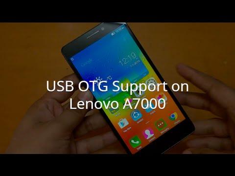 USB OTG Support on Lenovo A7000