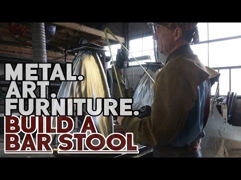 Metal Art Furniture - Bar Stool