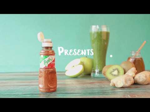 Green Juice with Tajín recipe