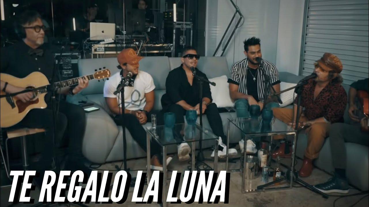 TE REGALO LA LUNA (LIVE) - Servando, Víctor Muñoz, Ronald Borjas, Oscarcito y Yasmil Marrufo