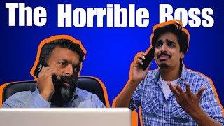 The Horrible Boss | Bekaar Films | Comedy Skit
