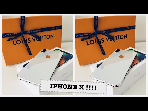 IPHONE X UNBOXING + SET IT UP WITH ME!