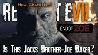 Resident Evil 7 End Of Zoe Trailer Analysis | Joe Baker Theory | New Character Not Jack Baker