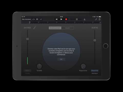Faire créer facilement aux élèves un jingle radio avec GarageBand