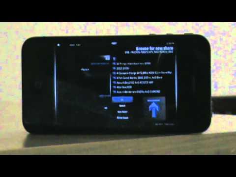 XBMC on iPhone 4