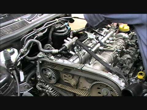 Vectra 1.9 CDTi Inlet Manifold and Cambelt Change